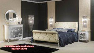 Set tempat tidur art deco mewah modern Ks-091