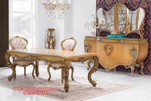 daftar harga set meja makan klasik mewah firat odasi skm-131