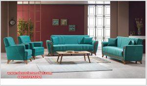 set sofa tamu jati modern model minimalis srt-134