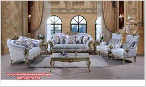 set sofa ukiran mewah modern flamboyan srt-138