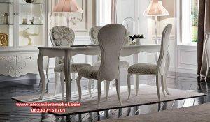 meja kursi makan duco modern violetta skm-150