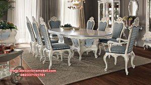 model meja makan luxury mewah ittalian furniture terbaru skm-152
