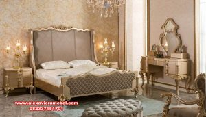 kamar set golden luxury model terbaru ks-120