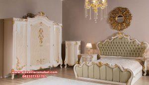 kamar set pengantin model klasik safir ks-123