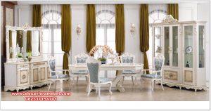 set meja makan klasik modern duco lafiya skm-164