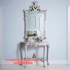 Console table duco carving classic Mkr-127