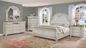Furniture bedroom set duco modern mewah terbaru Ks-131