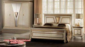 Set tempat tidur arredo classic ittalian furniture Ks-133