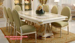 Meja kursi makan duco klasik modern abidzar Skm-174