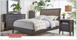 Set kamar jati minimalis modern cotton Ks-139