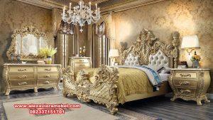 Jual set kamar esmeralda klasik gold mewah Ks-141